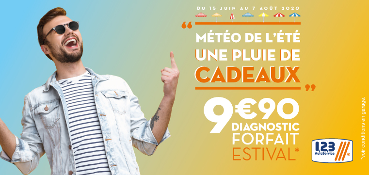 Diagnostic Forfait Estival à 9,90€ !